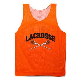 Guys Lacrosse Pinnie - Crossed Sticks