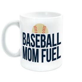 Baseball Coffee Mug - Baseball Mom Fuel