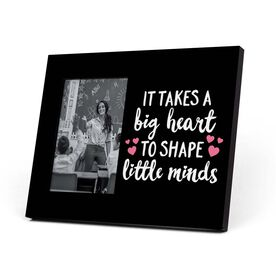 Personalized Teacher Photo Frame - Big Heart Little Minds