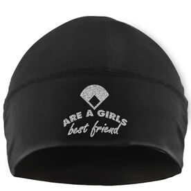 Beanie Performance Hat - Diamonds Are A Girls Best Friend