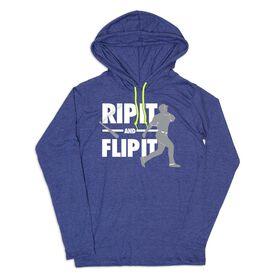 Men's Baseball Lightweight Hoodie - Rip It Flip It