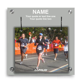 Personalized Custom Photo Wall BibFOLIO® Display