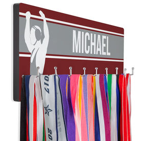 Wrestling Hooked on Medals Hanger - Personalized Wrestler