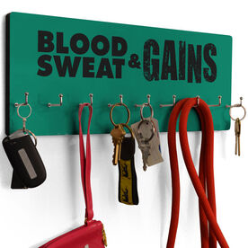 Cross Training Hook Board Blood Sweat And Gains