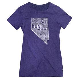 Women's Everyday Runners Tee Nevada State Runner