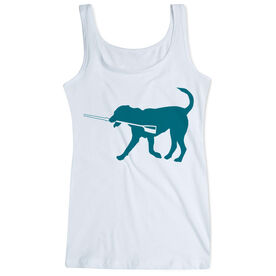 Crew Women's Athletic Tank Top Cody The Crew Dog