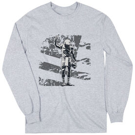 Football Tshirt Long Sleeve Number One Player