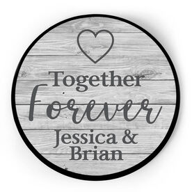 Personalized Circle Plaque - Together Forever