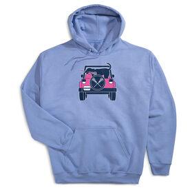 Girls Lacrosse Hooded Sweatshirt - Lax Cruiser