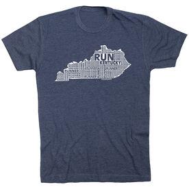 Running Short Sleeve T-Shirt - Kentucky State Runner