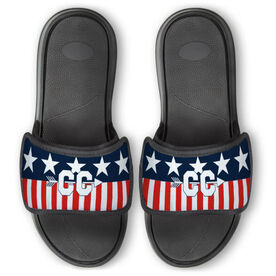 Cross Country Repwell™ Slide Sandals - Stars and Stripes