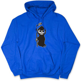 Hockey Hooded Sweatshirt - Hockey Reaper