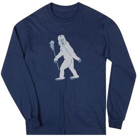 Guys Lacrosse Long Sleeve Tee - Yeti