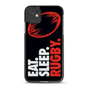 Rugby iPhone® Case - Eat. Sleep. Rugby.