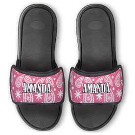 Personalized For You Repwell™ Slide Sandals - Paisley