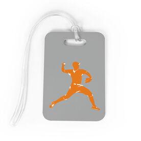 Baseball Bag/Luggage Tag - Pitcher