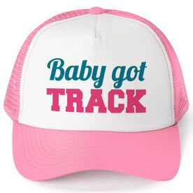 Track & Field Trucker Hat Baby Got Track
