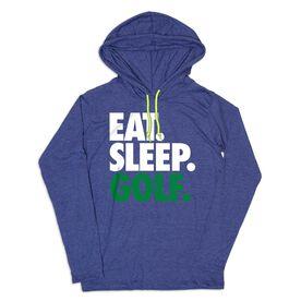 Men's Golf Lightweight Hoodie - Eat Sleep Golf