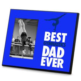 Gymnastics Wood Frame Best Dad Ever