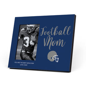 Football Photo Frame - Football Mom Script