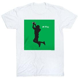 Football Tshirt Short Sleeve iPlay Football
