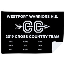 Cross Country Premium Blanket - Team Roster