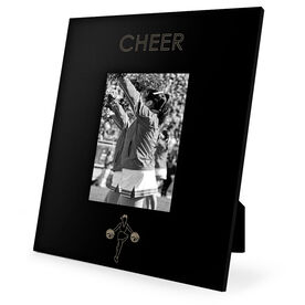 Cheerleading Engraved Picture Frame - Simple Cheer