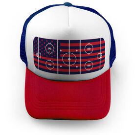 Hockey Trucker Hat - My Patriotic Rink