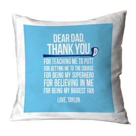 Golf Pillow Dear Dad