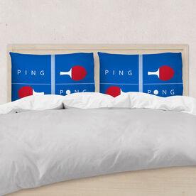 Ping Pong Pillowcase - Table