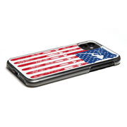 Skiing iPhone® Case - American Flag