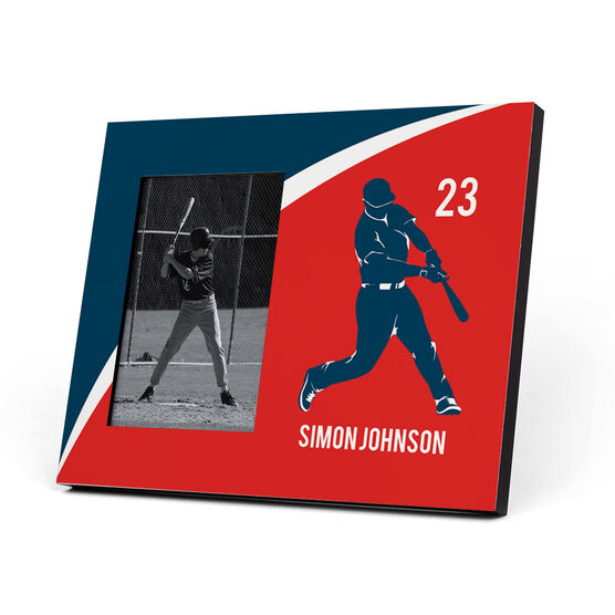 Baseball Photo Frame - Personalized Batter