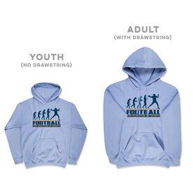 Football Hooded Sweatshirt - Football Evolution