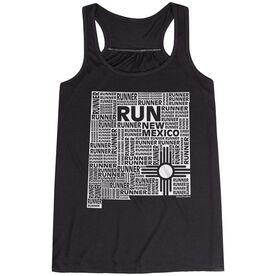 Flowy Racerback Tank Top - New Mexico