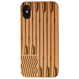 Crew Engraved Wood IPhone® Case - American Flag