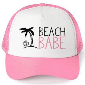 Volleyball Trucker Hat Beach Babe