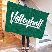 Volleyball Premium Blanket - Volleyball Words