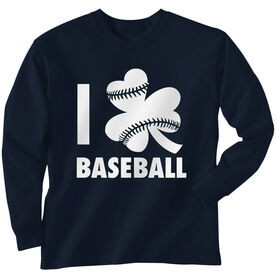 Baseball Long Sleeve T-Shirt - I Shamrock Baseball