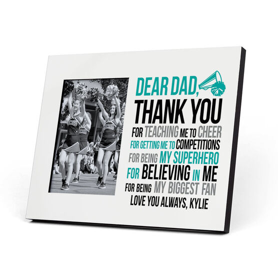 Cheerleading Photo Frame - Dear Dad