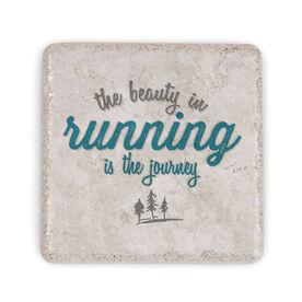 Running Stone Coaster - The Beauty In Running