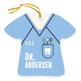 Personalized Ornament - Dentist Outfit
