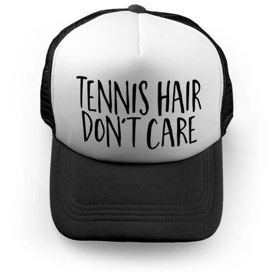 Tennis Trucker Hat - Tennis Hair Don't Care
