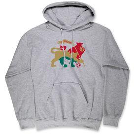 Soccer Standard Sweatshirt - RASTA Lion Soccer