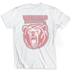 Vintage Football T-Shirt - Your Logo