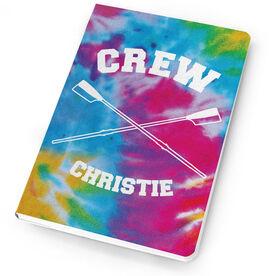 Crew Notebook Tie Dye Pattern with Oars