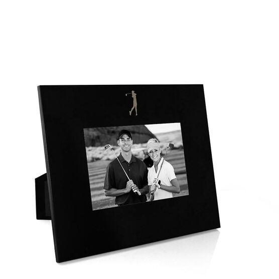 Golf Engraved Picture Frame - Girl Golfer