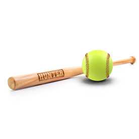 Engraved Mini Softball Bat - Your Name