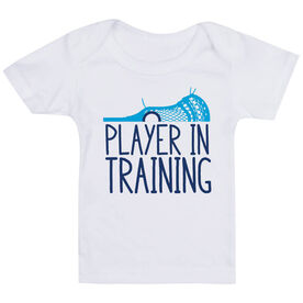 Guys Lacrosse Baby T-Shirt - Player In Training