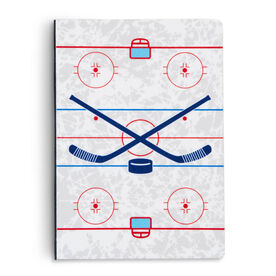 Hockey Notebook - Hockey Rink