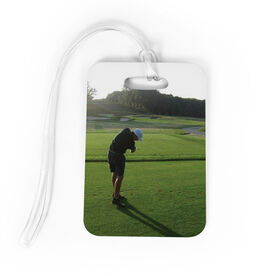 Golf Bag/Luggage Tag - Custom Photo